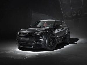Hamann Range Rover Evoque Wide-body tuning programme