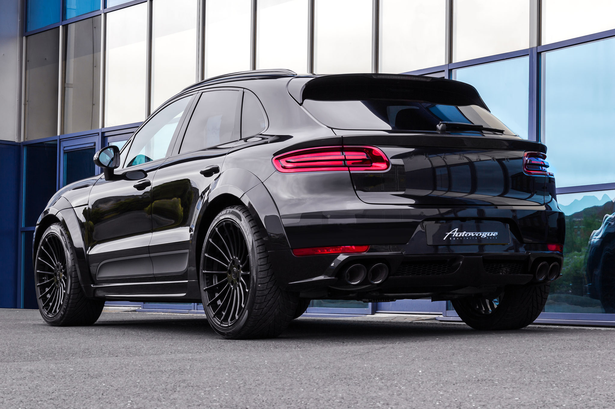 Hamann Porsche Macan Wide Body Hamann Motorsport Uk