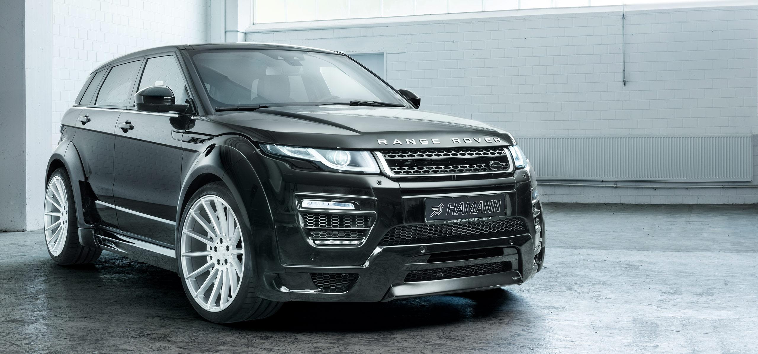 range rover evoque 5 door widebody hamann motorsport uk. Black Bedroom Furniture Sets. Home Design Ideas