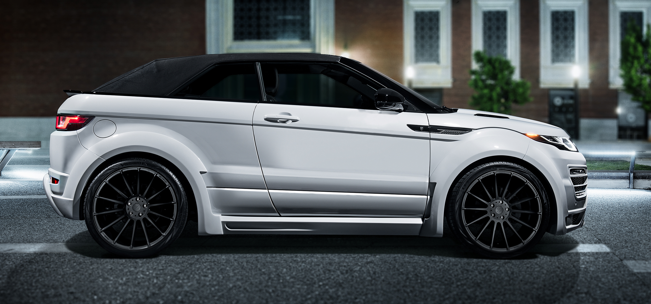 range rover evoque convertible hamann motorsport uk. Black Bedroom Furniture Sets. Home Design Ideas