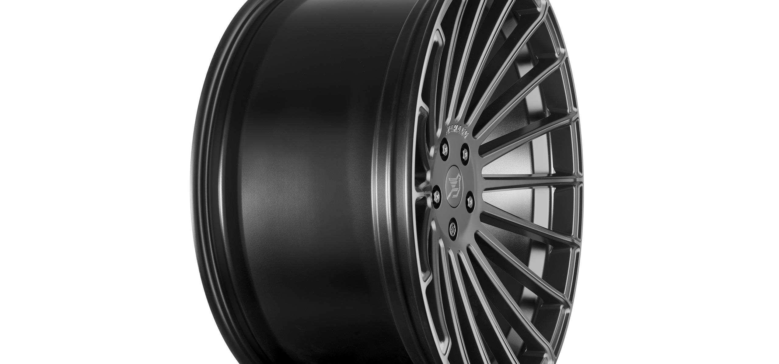 Hamann Anniversary Evo Black Line Alloy Wheels