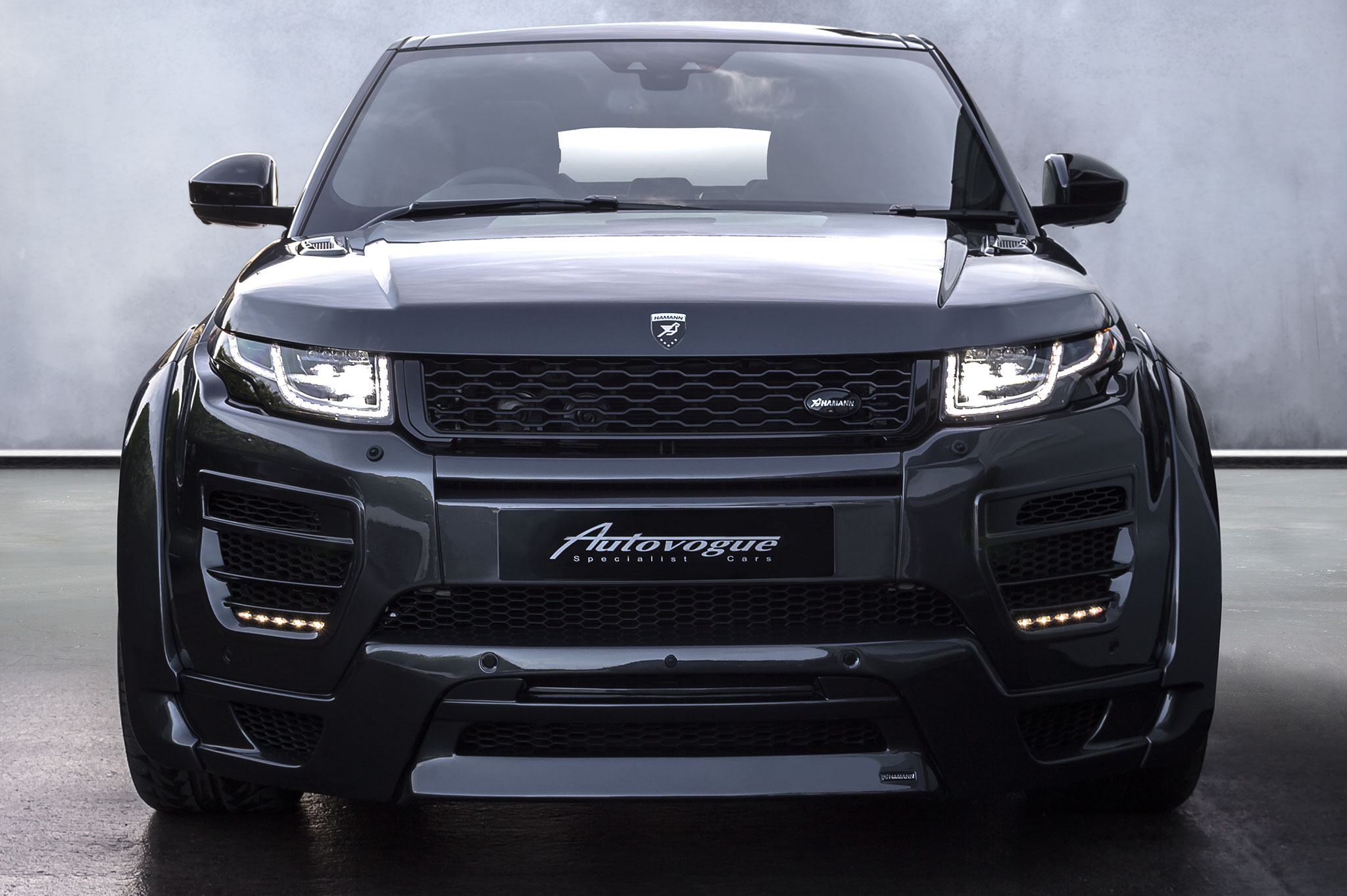 hamann range rover evoque 5 door widebody