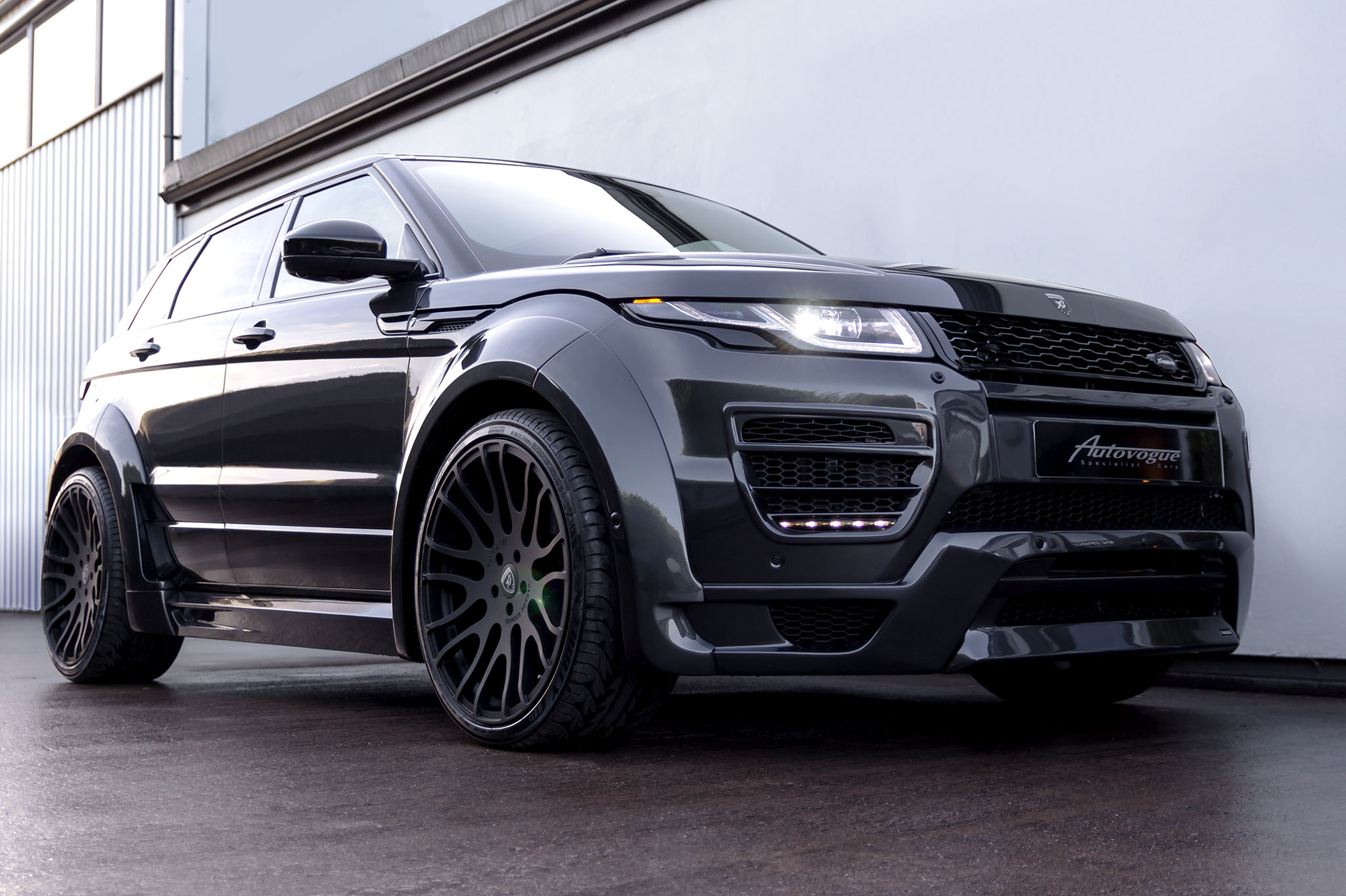 Range Rover Paint >> Hamann Range Rover Evoque 5 Door Widebody