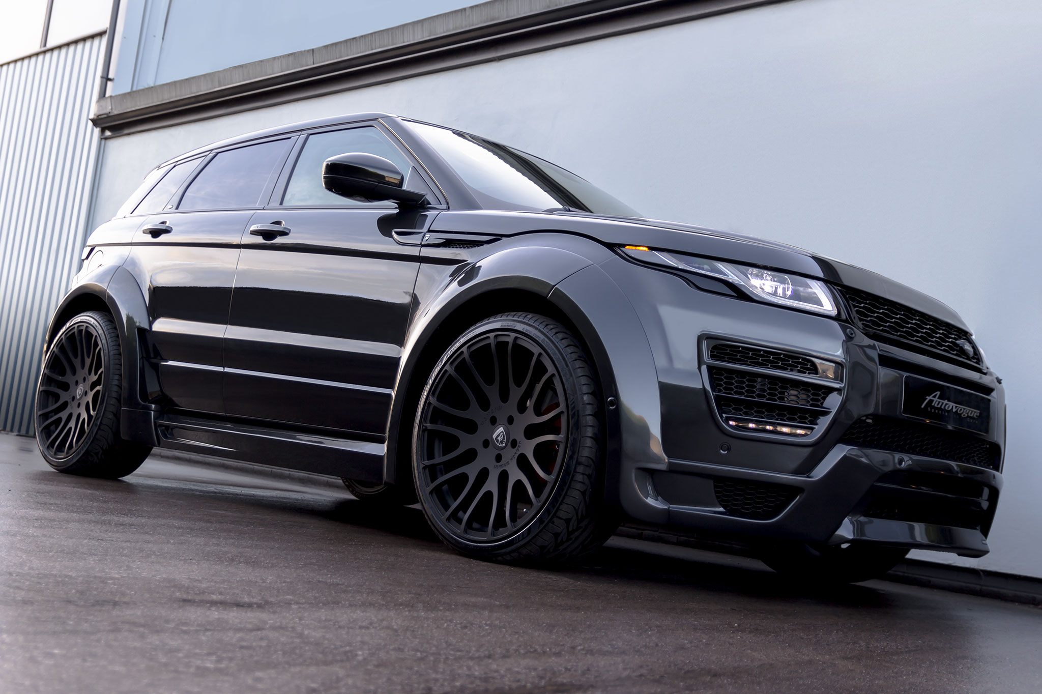 Range Rover Evoque >> Hamann Range Rover Evoque 5 Door Widebody