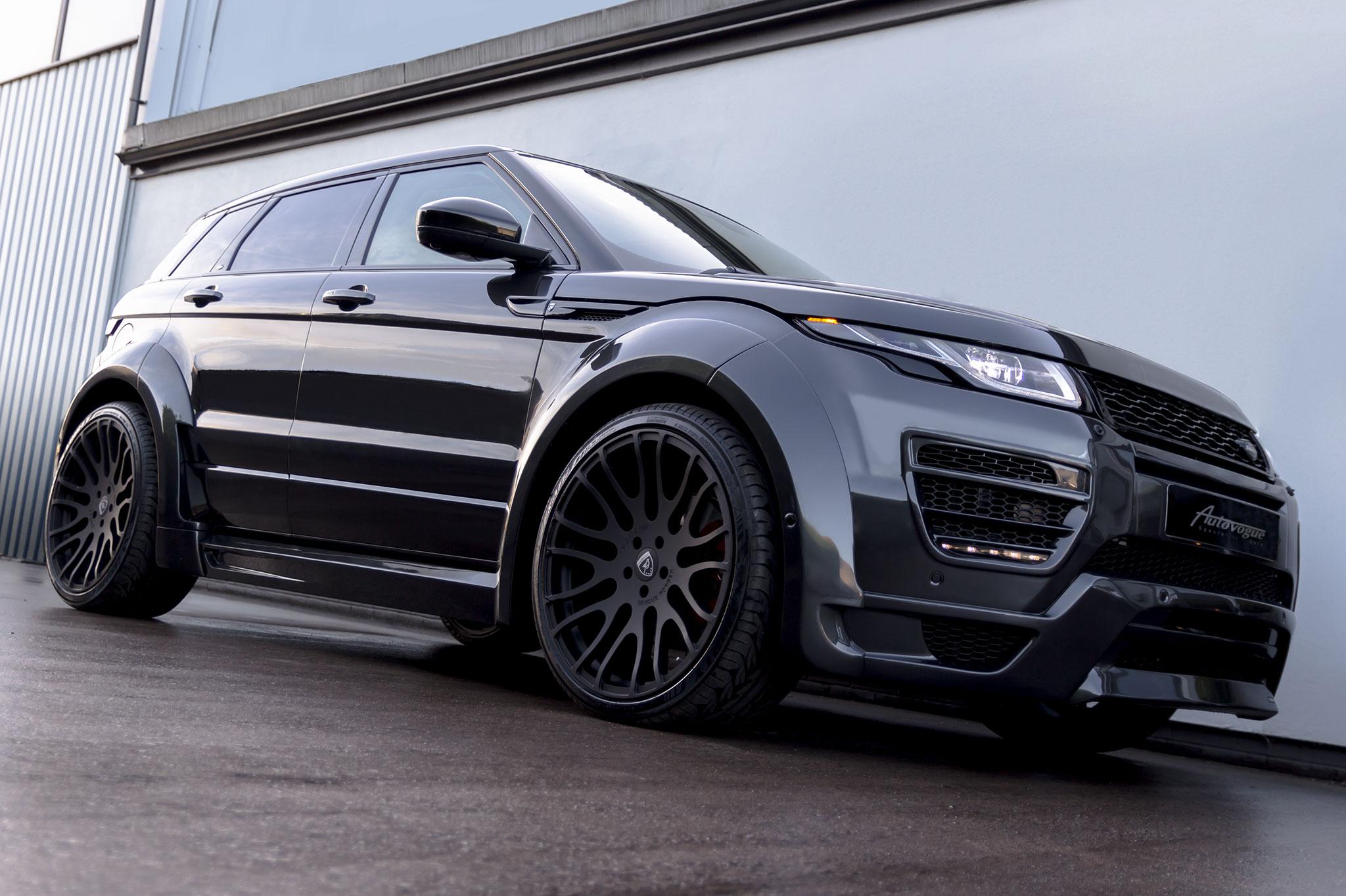 Range Rover Sport >> Hamann Range Rover Evoque 5 Door Widebody