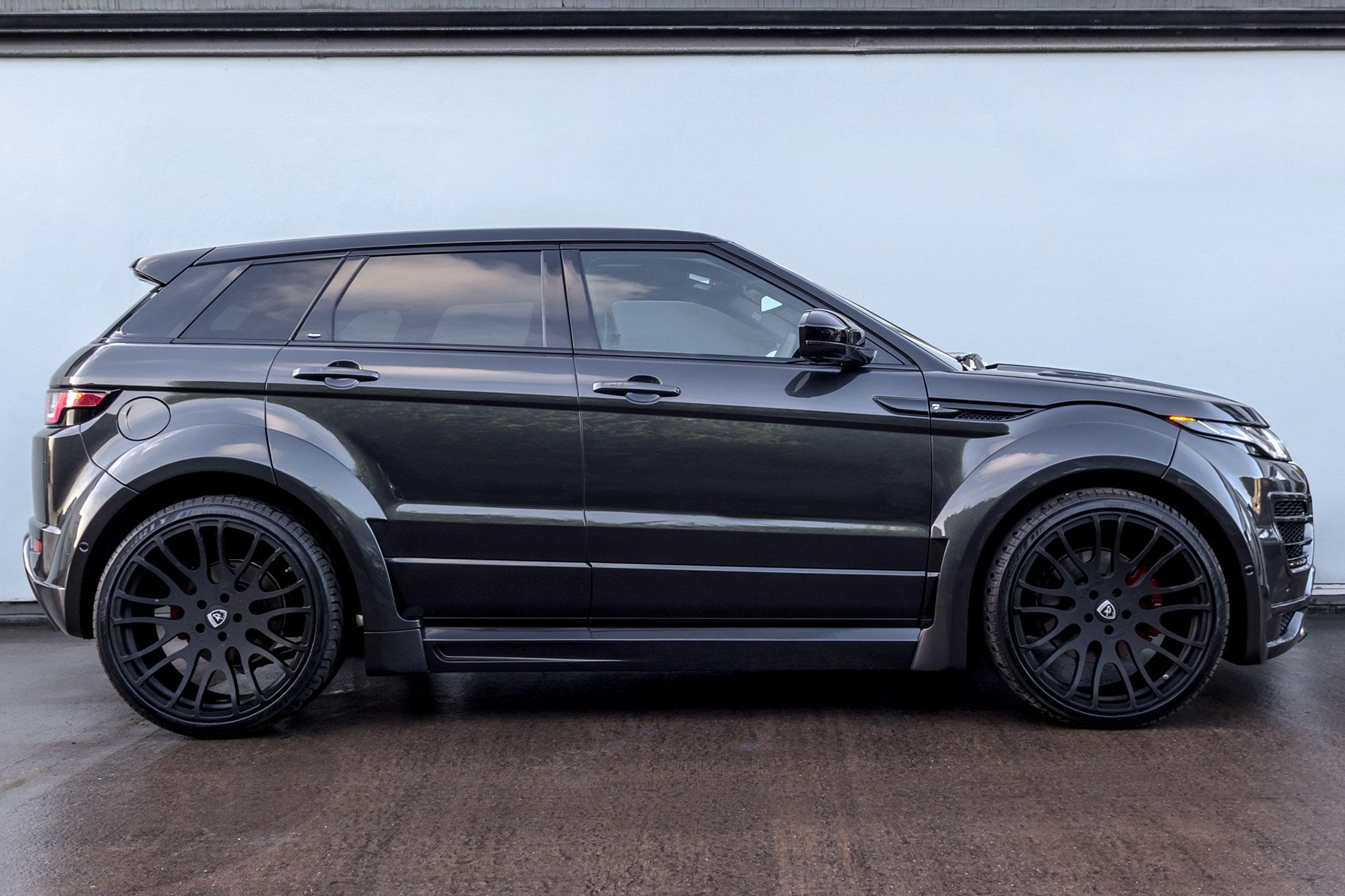 Range Rover Evoque Price >> Hamann Range Rover Evoque 5 Door Widebody